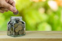 Besparingenplannen, financieel concept Royalty-vrije Stock Foto's