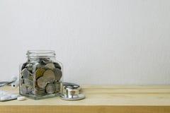 Besparingplan för sjukvård och medicin royaltyfria bilder