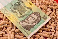 Besparingskorrel stock afbeelding