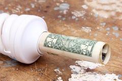 Besparingslamp Royalty-vrije Stock Afbeelding