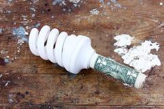 Besparingslamp Royalty-vrije Stock Foto's