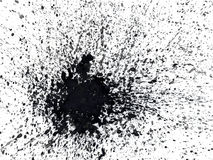 Bespatte abstracte waterverf Royalty-vrije Illustratie