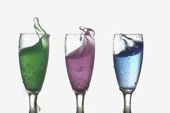 Bespattende Cocktail Royalty-vrije Stock Fotografie