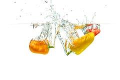 Bespattende Paprika royalty-vrije stock afbeelding