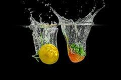 Bespattende Vruchten royalty-vrije stock afbeelding