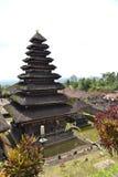 Bessakih荐骨的寺庙在巴厘岛 库存图片