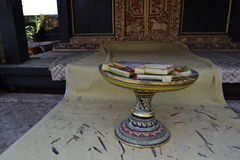 Bessakih荐骨的寺庙在巴厘岛 免版税图库摄影