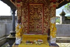 Bessakih荐骨的寺庙在巴厘岛 库存照片