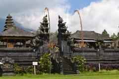 Bessakih荐骨的寺庙在巴厘岛 免版税库存照片