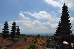 Bessakih Sacral Temple in Bali Island. General Sacral Buddhism Hinduism Temple in Bali Island - Pura Bessakih Royalty Free Stock Image