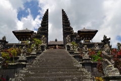 Bessakih Sacral Temple in Bali Island. General Sacral Buddhism Hinduism Temple in Bali Island - Pura Bessakih Royalty Free Stock Images