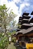 Bessakih Sacral Temple in Bali Island. General Sacral Buddhism Hinduism Temple in Bali Island - Pura Bessakih Royalty Free Stock Photo