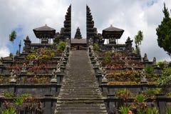 Bessakih Sacral Temple in Bali Island. General Sacral Buddhism Hinduism Temple in Bali Island - Pura Bessakih Stock Photo