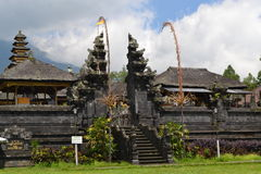 Bessakih Sacral Temple in Bali Island Royalty Free Stock Photo