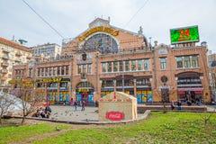 Bessarabskiy indoor Market Kiev Stock Image