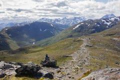 Besseggen στη Νορβηγία Στοκ Εικόνα