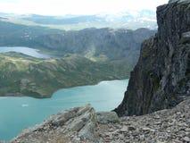 Besseggen jeziora Obraz Royalty Free