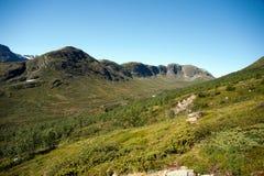 Besseggen Ridge en el parque nacional de Jotunheimen Fotografía de archivo