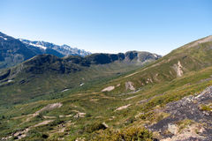 Besseggen Ridge en el parque nacional de Jotunheimen Fotografía de archivo libre de regalías
