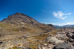 Besseggen Ridge en parc national de Jotunheimen Image stock
