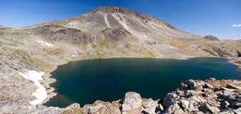 Besseggen Ridge en parc national de Jotunheimen Photographie stock