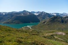 Besseggen Ridge in Jotunheimen National Park Stock Images