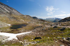 Besseggen Ridge in Jotunheimen National Park Royalty Free Stock Photos