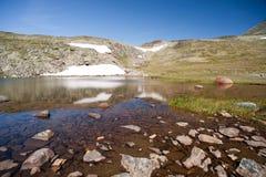 Besseggen Ridge in Jotunheimen National Park Stock Photo