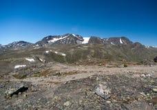 Besseggenrand in het Nationale Park van Jotunheimen Stock Foto