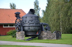 Bessemer converter Stock Photos