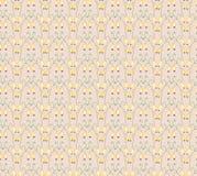 Bessen geometrisch naadloos patroon Royalty-vrije Stock Fotografie