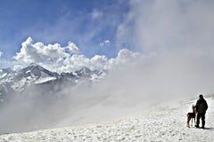 Besser als Berge sein können nur Berge Stockfotografie