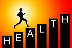 Bessere Gesundheit stock abbildung