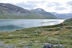 Bessvatnet in Norwegen Stockfotografie