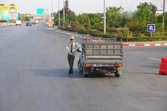 Beställning för polisTunisien sylt i staden av Sousse Fotografering för Bildbyråer