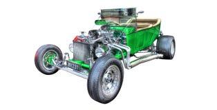 Beställnings- Ford Model T varm stång på en vit bakgrund Arkivbild