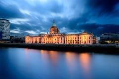 Beställnings- hus Dublin Ireland Royaltyfri Fotografi
