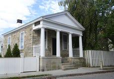 Beställnings- hus i Stonington Connecticut Arkivfoto
