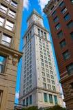 Beställnings- hus Massachusetts för Boston klockatorn Royaltyfri Bild