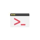 Beställnings- kodifiera plan symbol Arkivbild