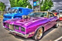 Beställnings- 70-talaustralier Ford Landau Royaltyfria Foton