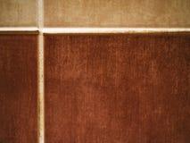 Beställnings- vägg för tegelplattabadrumbacksplash royaltyfria bilder