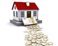 Beständige Grundlage für Haus Lizenzfreies Stockbild