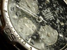 Beständige Uhr des Wassers Stockfotos