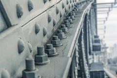 Beståndsdel av den moderna bron Royaltyfri Foto