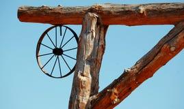 Beståndsdel av ranchens port Arkivbilder