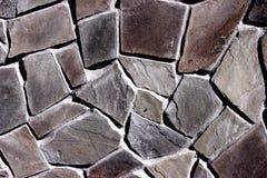 Beståndsdel för bakgrund, stenyttersida, brunt, grått som är svart, cement royaltyfria foton