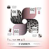Beståndsdel för modebegreppsdiagram Royaltyfria Foton