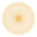 Beståndsdel för rosett för Guillocheprydnad dekorativ Fotografering för Bildbyråer