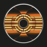 Beståndsdel för Techno abstrakt begreppdesign Arkivbilder